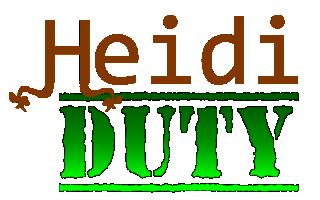 Heidi Duty Logon Logo